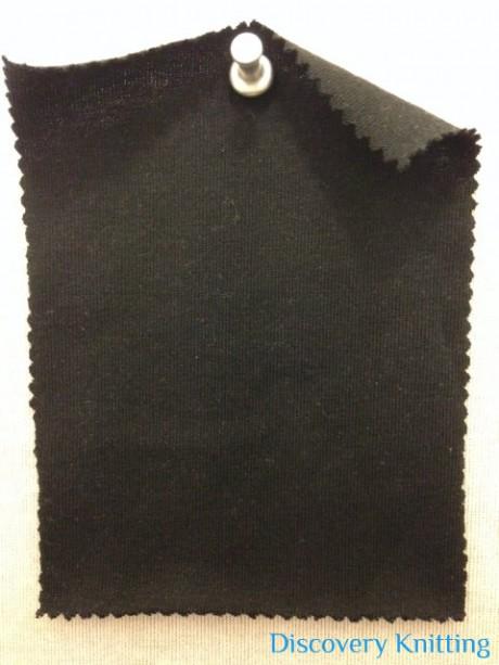 626 T -OG-Blk  Organic Cotton Jersey Black