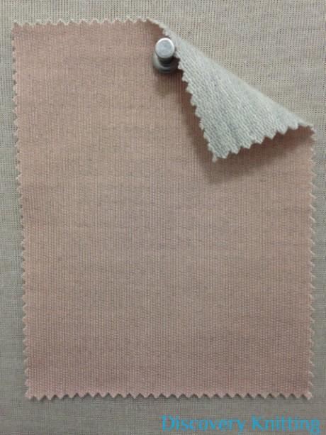 PS 652 LB-PME Pink with grey melange loop