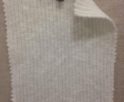 624-CN-RW  2x1 Slubby Rib Raw White