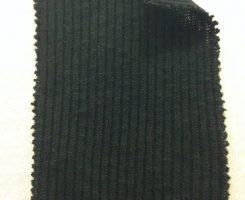 625-CN-Blk   2x1 Slubby Rib Black