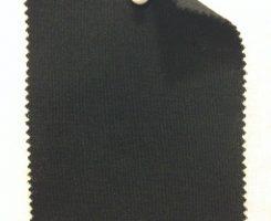 648 N -W-Blk  Extrafine Merino Interlock Black