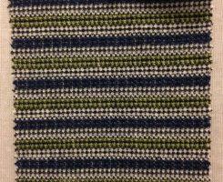 733 LBT-CVP-NG  Wrangler Stripe Navy/Green # 3