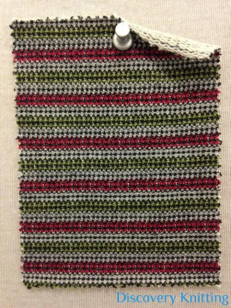 733 LBT-CVP-RG  Wrangler Stripe Red/Green #2