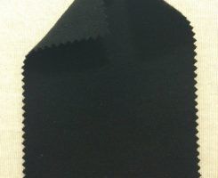 7800-C-Blk Black Combed Cotton Interlock