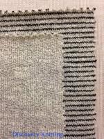 Ripple Grey Marl & Ripple Stripe Grey Marl/Black