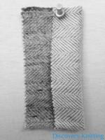 521-CP Reversible Herringbone Vintage Grey BOTH SIDES
