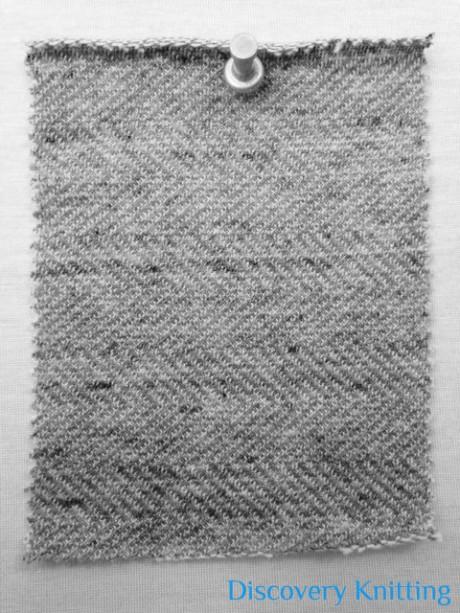 521-CP Reversible Herringbone Vintage Grey side
