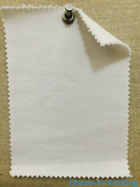 608 LB T-C23 Gassed Cotton Loopback Optical White