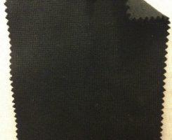 9122-CE -Blk 1x1 Rib w Lycra Black