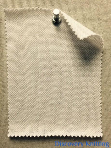 764-C-OP Pique Optical White
