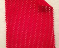 767 T-C-Red  Cotton Eyelet