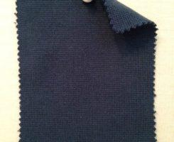 9122 T-CE-Blu  1x1 Lycra Rib Indigo Blue