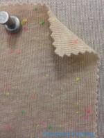 2414 T-CVP-VB 1x1 Rib Vintage Sand Neon Confetti