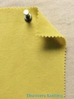 604 -C -Yel  1x1 Rib Yellow