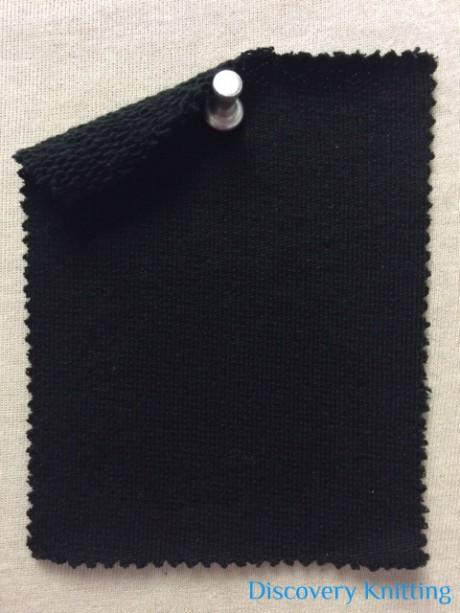 777 LBT-WCPM-Blk Mercerized Merino Wool, Cotton Poly Modal BLACK