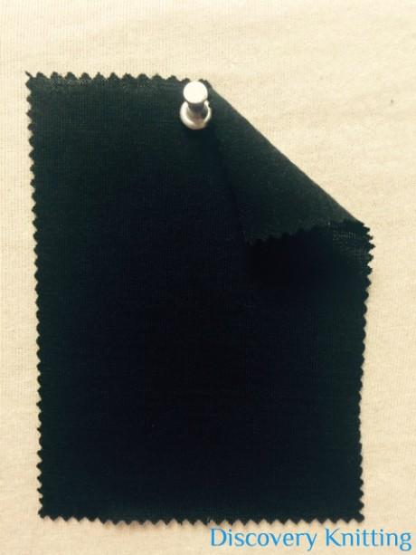782 T-W-Blk Extrafine Merino Wool Jersey Black