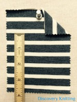 "02971 S-AVE-DN  Jersey Stripe 1/2"" x 1/4"""