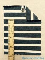 "02971 S-AVE-DN  Jersey Stripe 1/2"" x 1/4"""