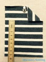 02971 S-AVE-DN Jersey Stripe 12 mm x 6 mm