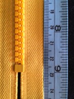 ZP-58 Short Yellow Nylon Measure CM & Inches