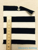 6267 S-C-BlkOP Jersey Stripe 2cm x 2cm