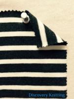 7817-S 71-AVE-CN Lycra Stripe Jersey Charcoal/Nat