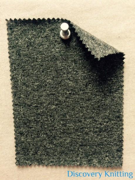 806-CE  Black Jaspe Lycra Jersey