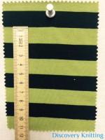 809 S 6-VPE-LimBlk Stripe Jersey 1.5 cm x 1.5 cm