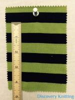 """809 S 6 -VPE-LimBlk Stripe Jersey 5/8"""" x 5/8"""""""