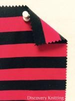 809 S 6-VPE -LipBlk Stripe Jersey Lipstick/Black