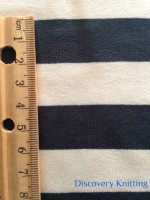 029 S-AVE-TreEc  Tree/Ecru Stripe w Ruler CM