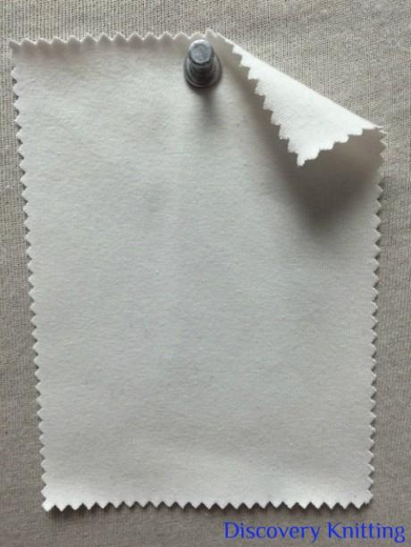 788-OGE-RW Organic Cotton 12% Lycra Jersey Raw White