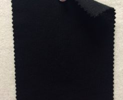 852 LB-WMPE-Blk Loopback Mercerized Merino Wool Modal Poly Lycra ~Black