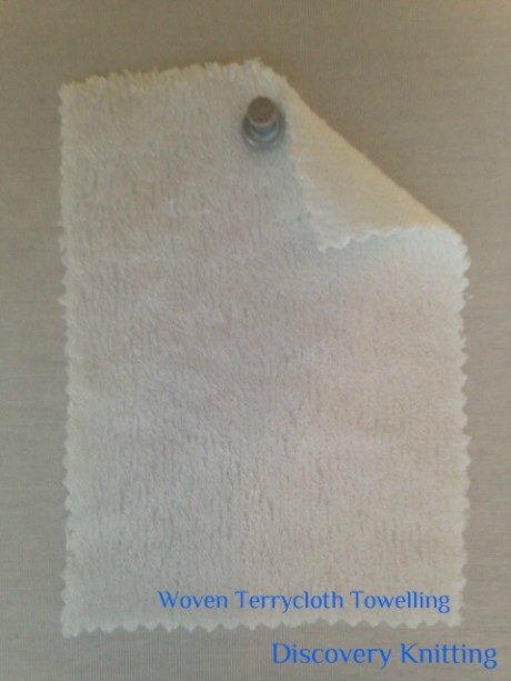 WT 8561-BP-OP Woven Terrycloth Towelling BAMBOO Optical White