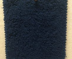 WT 8565-CP-NVY Woven Terrycloth Towelling Navy