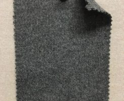 847 G-CH -GM  MELTON KNIT  Dark Grey Melange