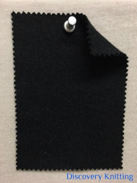 849 G-CH -CM  MELTON KNIT Dark Charcoal Melange
