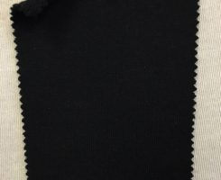 857 LB-OGP-Blk Organic Cotton Poly Loopback BLACK
