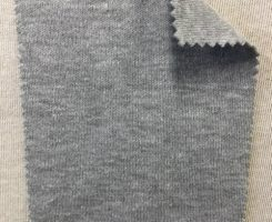 198 G-OGP-11 Organic Interlock Grey Melange # 11