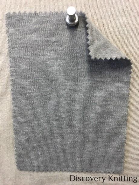 198 G-OGP-11 Organic Interlock Grey Melange # 11