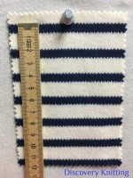 846 S-C-ENvy Stripe Heavy Interlock CM Ruler