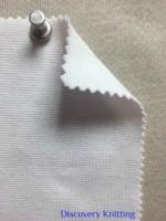 813 T -OGE -OP  Organic Cotton 2% Lycra 1x1 Rib OPTICAL WHITE