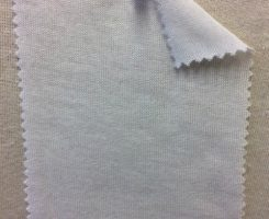 881-PV-OP  Viscose Poly jersey Lt Wt OPTICAL WHITE