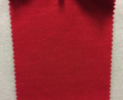 608 LB-OG-Red  Heavy Organic Cotton Loopback RED # VER 19