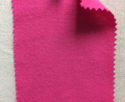 831 T-OG-Pnk49  ORTENSIA PINK # 49  Organic Cotton 1x1 Rib