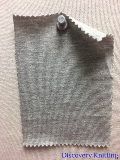 626 G-OG  Organic Combed Cotton  Jersey Grey Melange # 10
