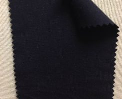 667-AVE-Nvy  Low Pill Viscose Lycra Jersey NAVY # 43500A