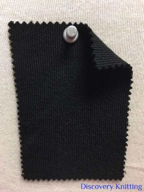 905-VP-Blk Heavy Viscose Poly Interlock BLACK