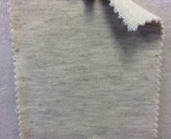 519 LB -VCXE  Beige Tweed Gold Lurex Loopback w Elastane /Ecru Loop