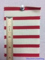 723 S-OGC  Organic Breton Stripe Jersey INCH RULER